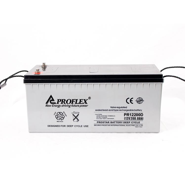 PR12-200D Deep cycle battery