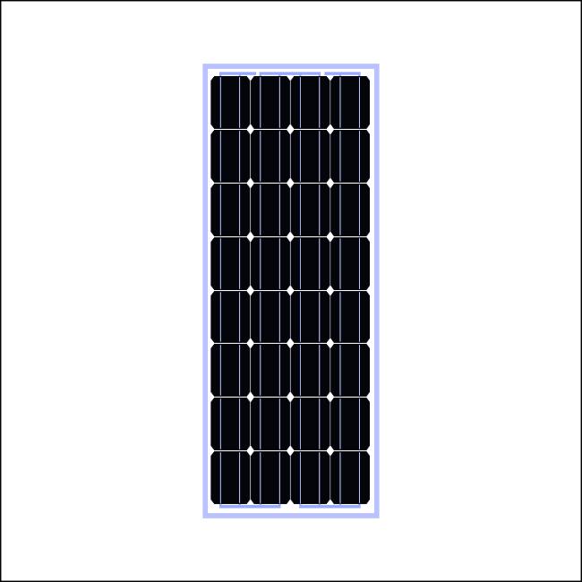 50W太阳能板